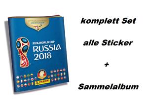 Panini-WM-2018-Russia-World-Cup-komplett-Set-alle-682-Sticker-Hardcover