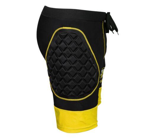 Sportswear Goalkeeper Protection Compression Padded Shorts Pant Training Kit Bib