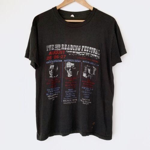 1989 Reading Festival Vintage Tour Shirt 80s 1980s