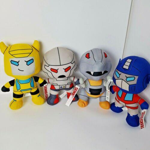 New 12/'/' Transformers Bumblebee Optimus Prime Megatron Grimlock Plush Toys Dolls