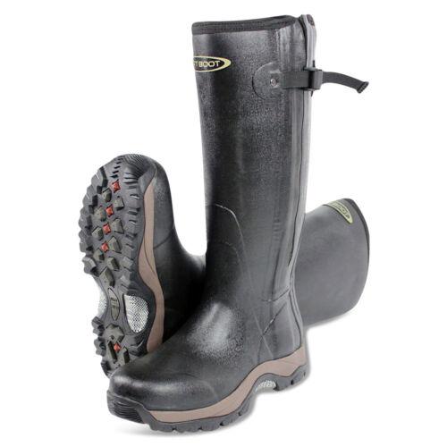 Dirt Boot® Neoprene Rubber Wellington Muck Boot Pro-Sport™ Hunt Zip Black Shoes Clothes, Shoes & Accessories