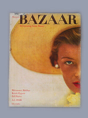 HARPERS BAZAAR-JULY 1948-HENRI CARTIER BRESSON-BRASSAI-DUKE/DUCHESS of WINDSOR