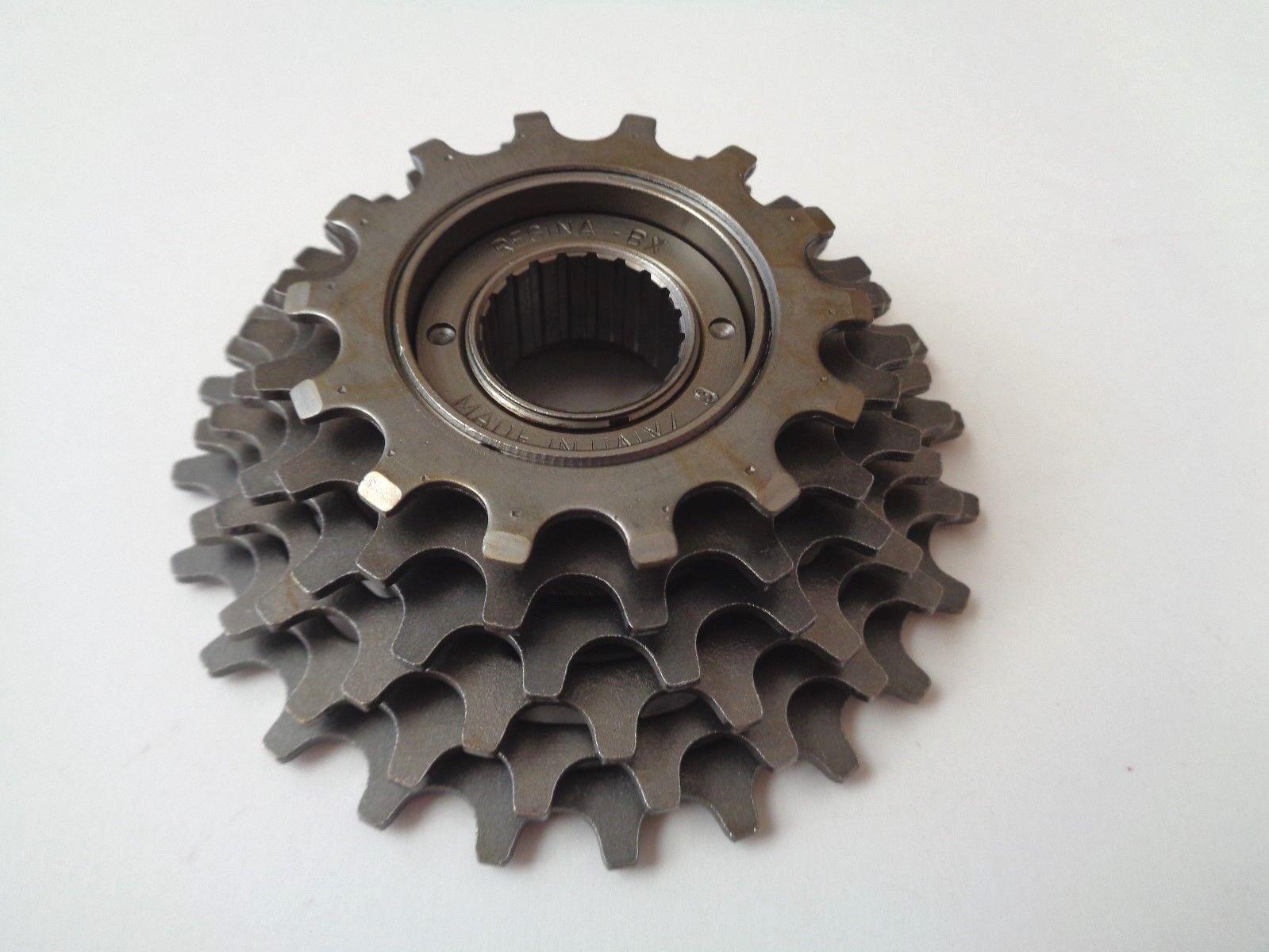 NOS Vintage 1980s REGINA BX  14-24 cogs 6 Speed FRENCH freewheel cassette  reasonable price