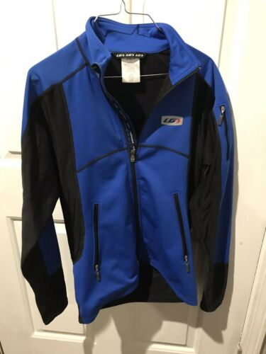 Louis Garneau  Long Sleeve Zip Jacket, Blue.  Size small