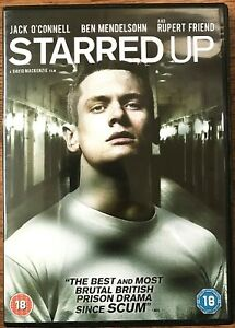Starred-Up-DVD-2014-British-Prison-Film-Movie-w-Jack-O-039-Donnell-Ben-Mendelsohn