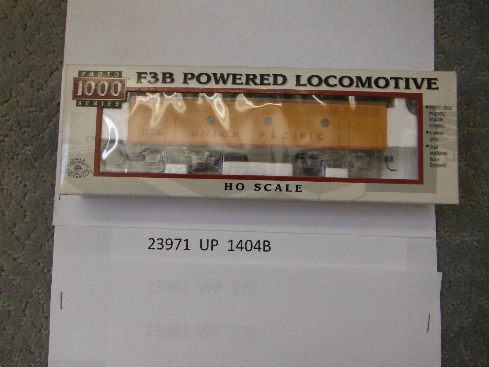 23971 UP 1404B Prossoo 1000 Series F3B energiaosso Locomotive