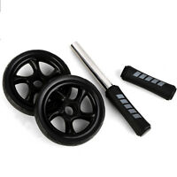 Abdominal Wheel Roller Total Body Workout Fitness Abdominal Core Carver Gym