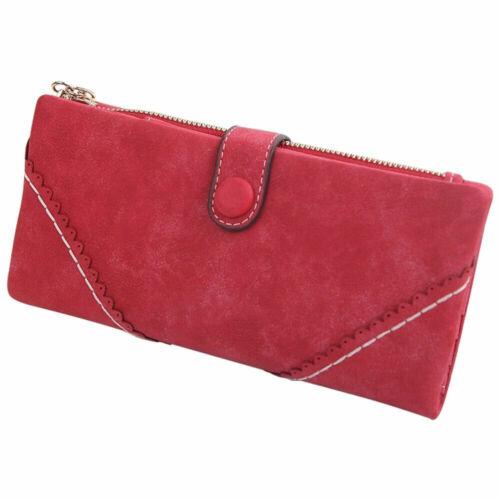 Women Purse Leather Wallet Ladies Clutch Bag Long Handbag Phone Coin Card Holder