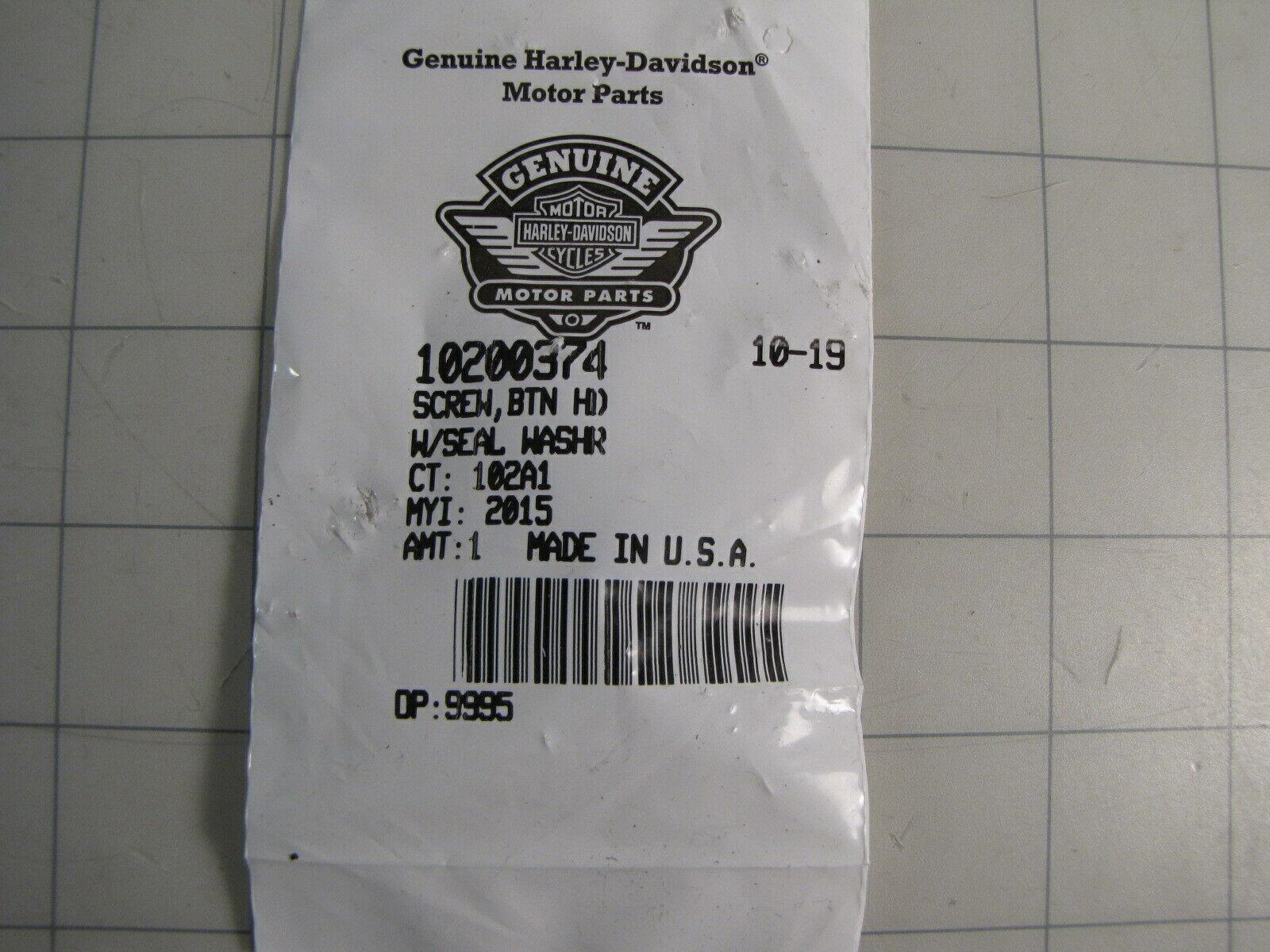 Harley Davidson OEM Screw 2711 QTY 2