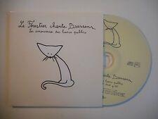 LE FORESTIER CHANTE BRASSENS : LES AMOUREUX DES BANCS [CD SINGLE PORT GRATUIT]