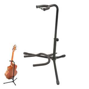 Alloy Floor Guitar Stand Stable Tripod Holder for Acoustic Electric Guitar Bass