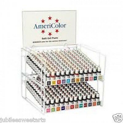 AMERICOLOR SOFT GEL PASTE FOOD CAKE COLOR 3/4 oz U PICK