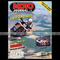 MOTO JOURNAL N°827 GUZZI 1000 LE MANS YAMAHA 250 TZR COBAS MONTESA COTA 307 1988