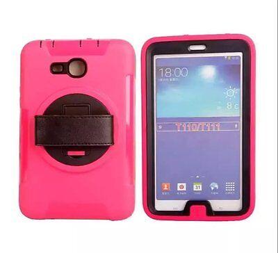 "For SAMSUNG Galaxy Tab 3 7"" (Lite) Screen Protector/ Heavy Duty Shockproof  Case"