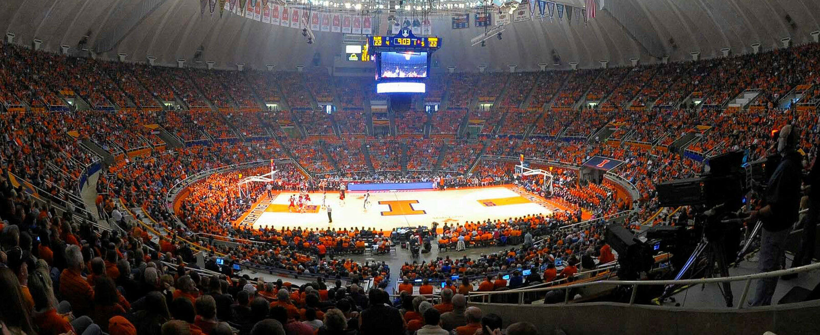 East Tennessee State Buccaneers at Illinois Fighting Illini Basketball
