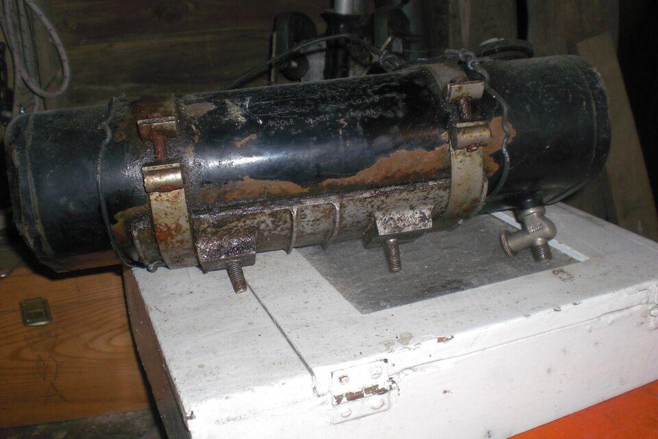 Andre samleobjekter, Seagull påhængs motor
