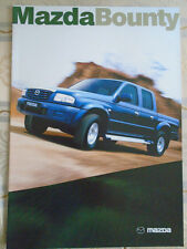 Mazda Bounty brochure Sep 2004 New Zealand market