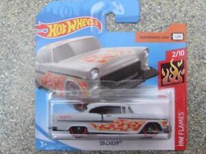 Hot-Wheels-2018-300-365-1955-Chevy-Gris-Hw-Llamas
