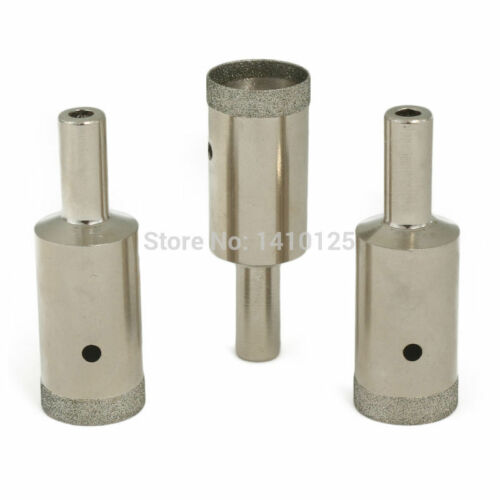 Ultrathin Diamond Tip Drill Bits 17 mm for Jewelry Gemstones Pack of 3Pcs