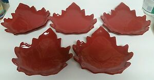 Leaf Plate Salad Lunch Dinner Fall Thanksgiving Appetizer