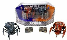 HEXBUG Battle Spider 2.0 Kids Radio Control Robot RC Toy Dual Pack NEW Hex Bug