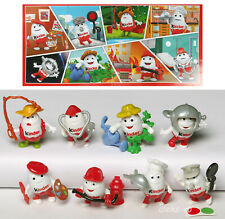 Kinder surprise comlete set Kinderino Party 50 years anniversary 8 toys/&papers!