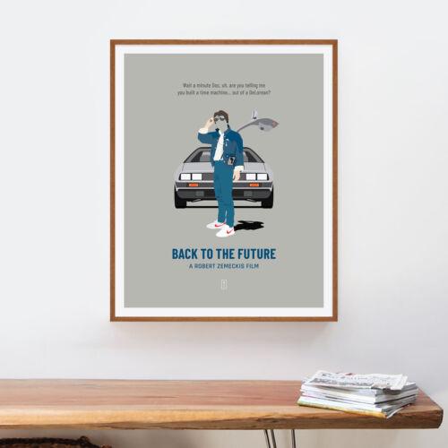 Michael J Fox Christopher Lloyd DeLorean Back to the Future Lea Thompson