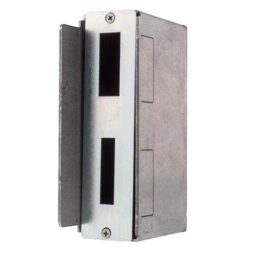 Gegenkasten für Einsteckschlösser 50mm Rohr Schließkasten