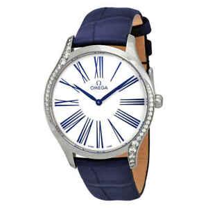 Omega-Tresor-De-Ville-White-Dial-Ladies-Watch-428-18-39-60-04-001