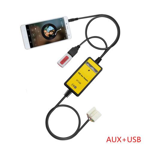USB AUX Mp3 Adapter Car Digital CD Changer For Honda 2.4 Civic Odyssey S2000