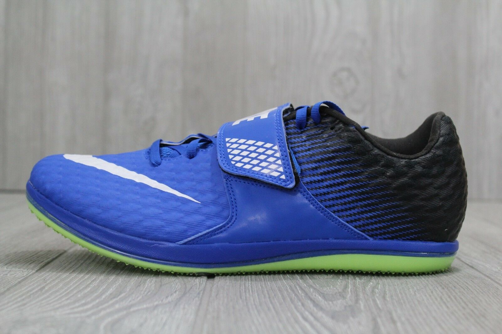 28 28 28 New Nike Mens 4 -11 Zoom HJ High Jump Elite Spikes Black Blue 806561-413 e59848