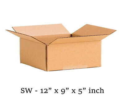 """SINGLE WALL POSTAL MAILING CARDBOARD BOX 7/""""x5/""""x5/"""" CHEAPEST ON  Fast Delivery"""