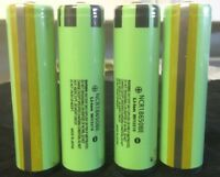 Brand 4 Panasonic Ncr18650be 3.7v 3200mah Rechargeable Battery Protected