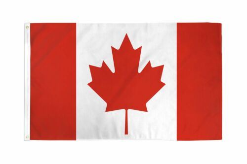 FI 3x5 Canada Country Premium 210D 3/'x5/' Knitted Poly Nylon DuraFlag Banner