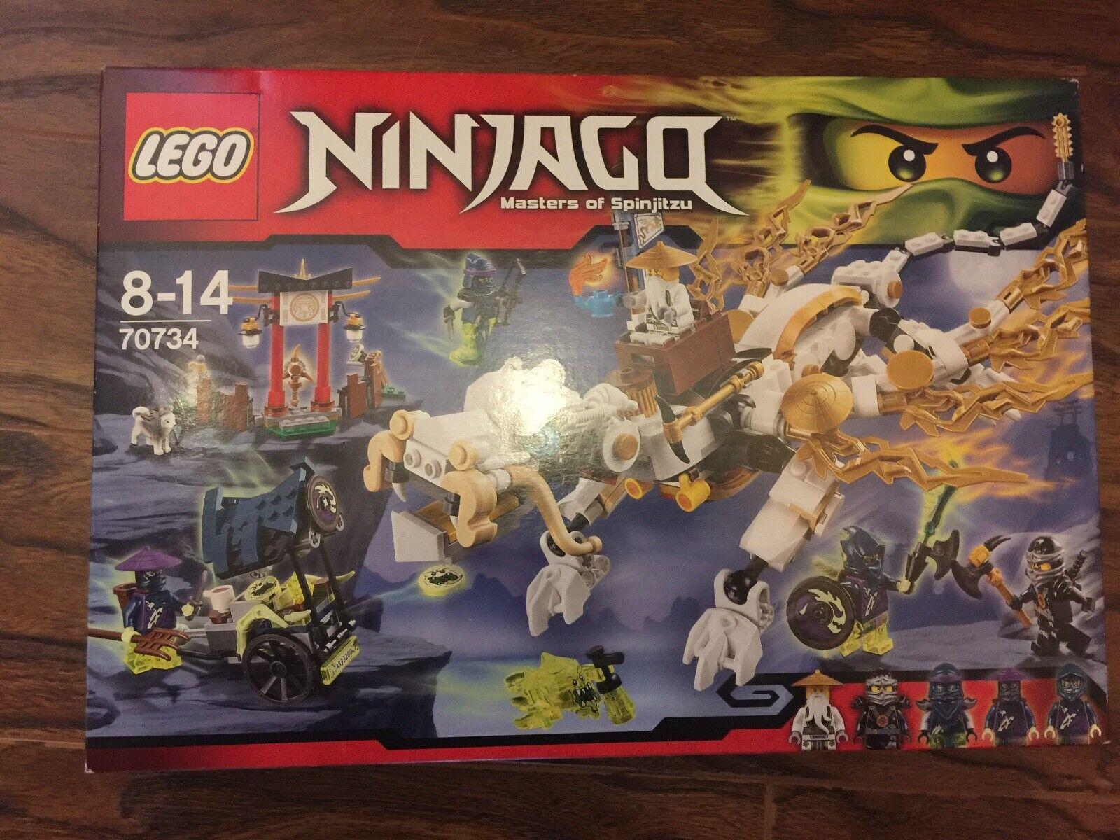 Lego Ninjago maestros de Spinjitzu Set 70734 retirado Juego Libre P&P