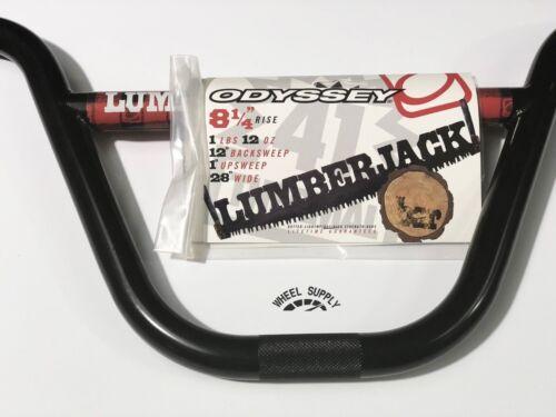 ODYSSEY LUMBERJACK BARS BMX Black