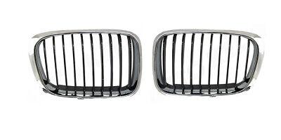 BMW 300Serie E30 3er Bj 82-93 Limousine Kühlergrill Kühlergitter Nieren 3tlg