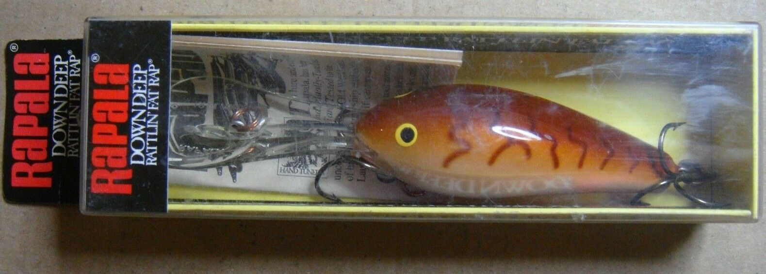 RAPALA DOWN DEEP RATTLIN FAT RAP  DRFR7CW ( MADE IN IRELAND)