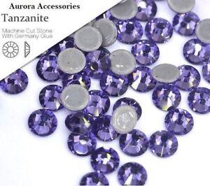 4mm Great Quality Hot Fix//Iron On Light Purple Tanzanite Flatback HOTFIX SS16
