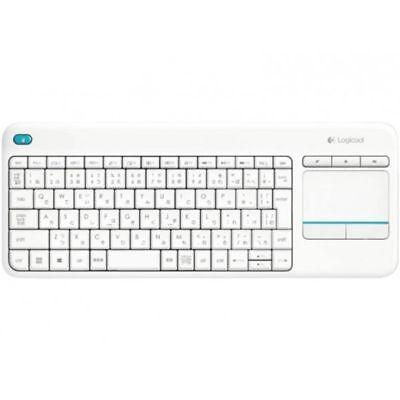 Logitech Wireless Touch Keyboard K400 Plus, Tastatur (920-007128, weiß)