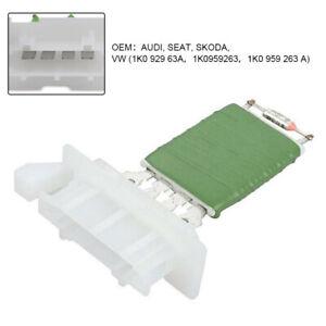 Heater-Blower-Motor-Fan-Resistor-For-VW-Audi-Skoda-Seat-Models-1K0959263A