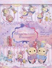 San-X Sentimental Circus Spica and Lost Star Parade Mini Memo Pad (GROUP)