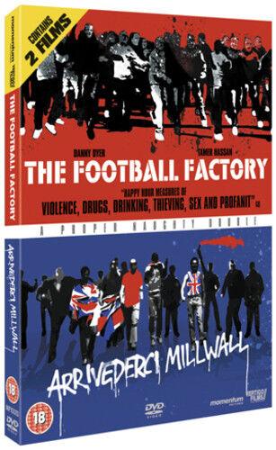 The Football Factory/Arrivederci Millwall DVD (2011) Danny Dyer ***NEW***