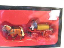 Preiser 30426 Wasserwagen Pferdegespann OVP (L6652)