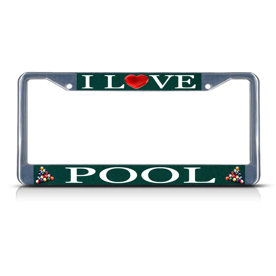 BUMBLE BEE ANIMAL Black Heavy Duty Metal License Plate Frame