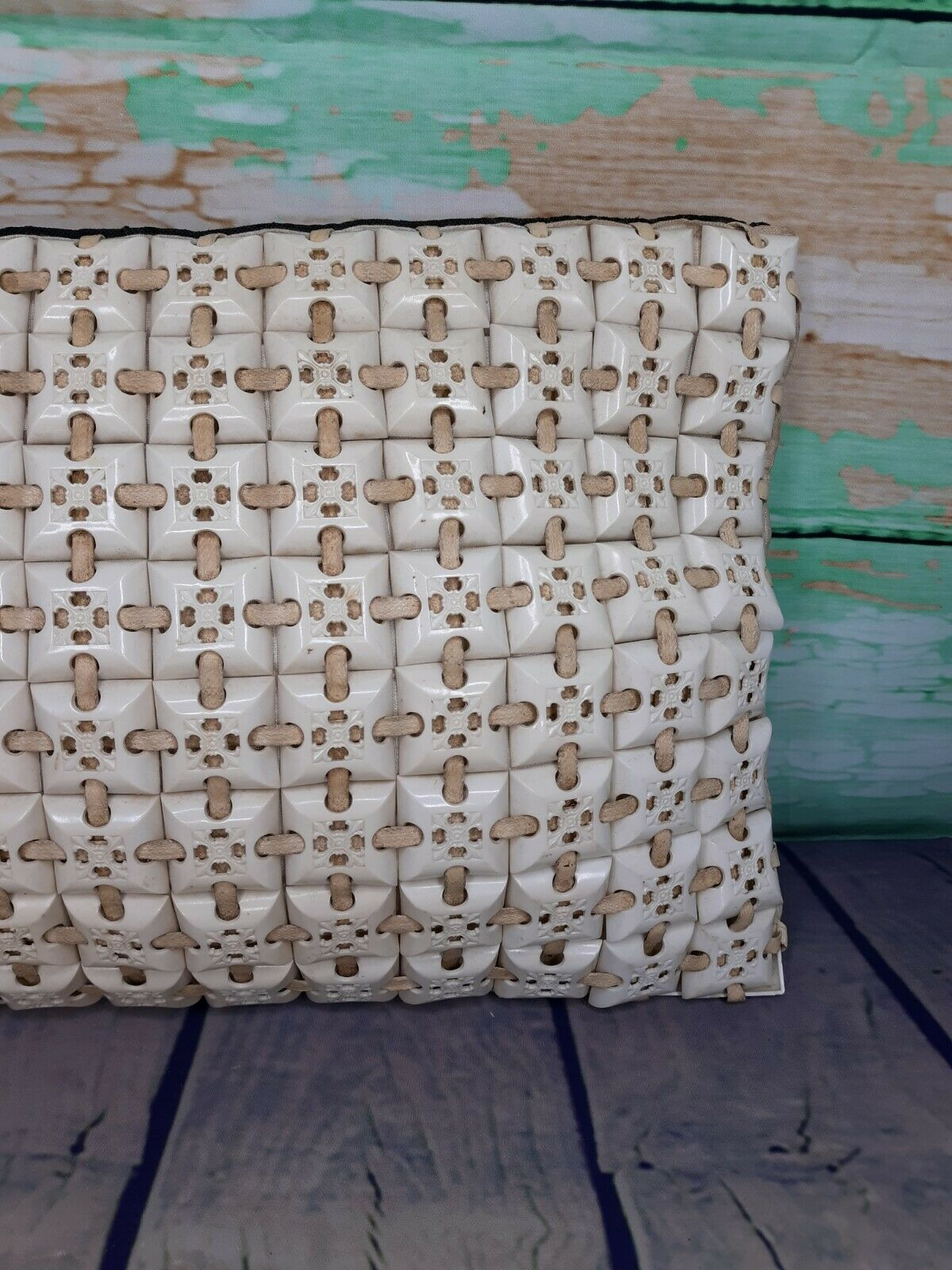 GREAT CONDITION Vintage Plasticflex Ivory Titled … - image 7