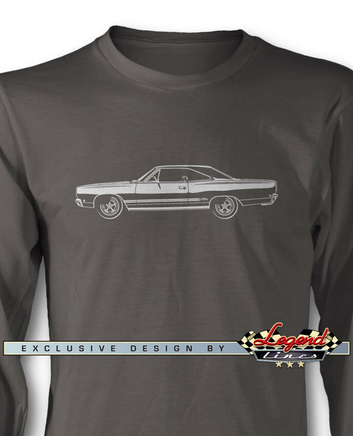 1968 Plymouth GTX Coupe Long Sleeves T-Shirt - Multiple colors & Sizes American