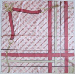 c1dabfc7845 Superbe Foulard GUESS soie TBEG vintage scarf 87 x 87 cm