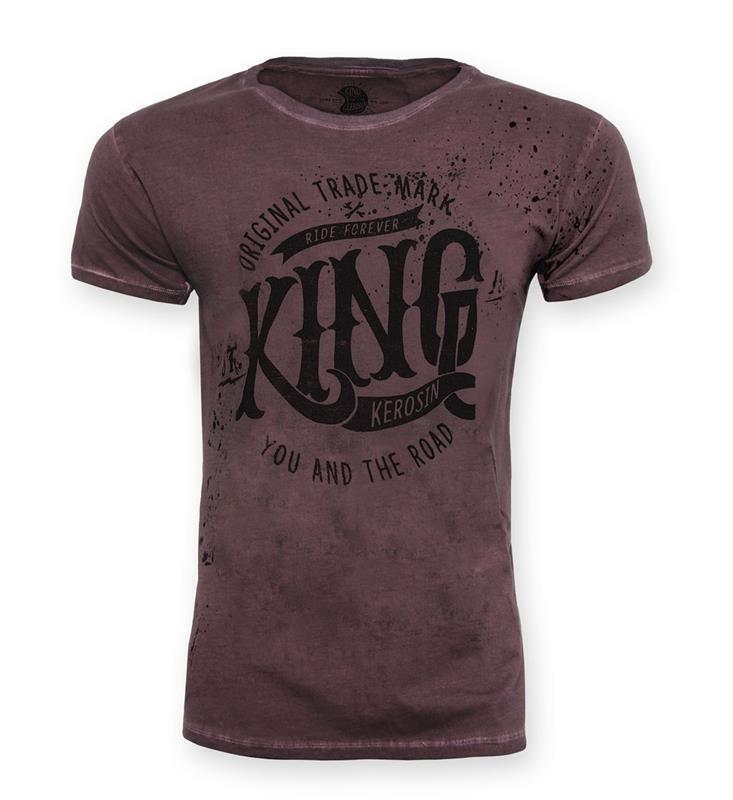 King Kerosin T-Shirt Shirt Mechanic You and the Road Herren