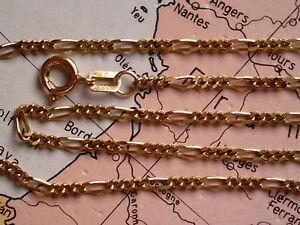 Honest Fußkette Figaro Gold 333 Länge 26 Cm X 2,4 Mm Jewelry & Watches Fine Jewelry Figaro Fußkette 26 Cm Gold 333
